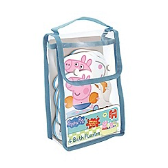 Peppa Pig - 4 in 1 Shaped Bath Jigsaw Puzzles