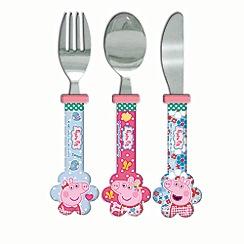 Peppa Pig - Home sweet home cutlery set