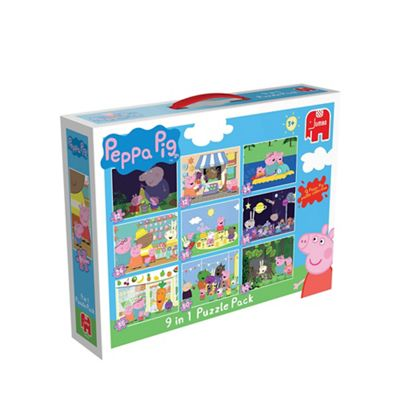 Peppa Pig 9 in 1 Bumperpack Jigsaw Puzzle