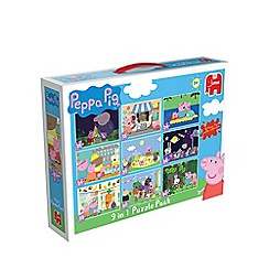 Peppa Pig - 9 in 1 Bumperpack Jigsaw Puzzle
