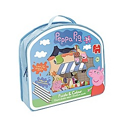 Peppa Pig - Puzzle and Colour