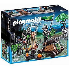 Playmobil - Wolf knights with catapult