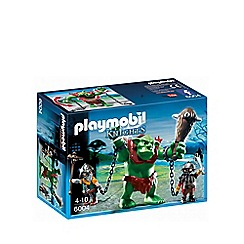 Playmobil - Giant troll with dwarf fighters