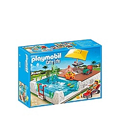 Playmobil - City Life swimming pool with terrace