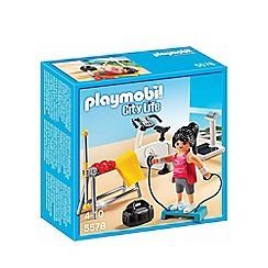 Playmobil - City Life fitness room