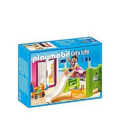 Playmobil - City Life children's room with loft bed