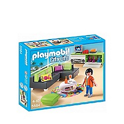 Playmobil - City Life modern living room