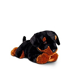 Keel - 30cm Black Puppy cuddly toy