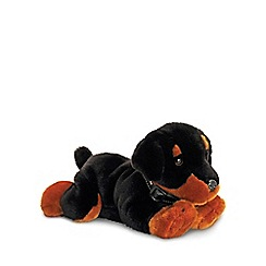 Keel - 90cm Black Puppy cuddly toy