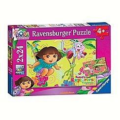 Dora the Explorer - Jigsaw puzzles - 2 x 24 pieces