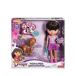 Dora the Explorer - Train & play Dora and Perrito