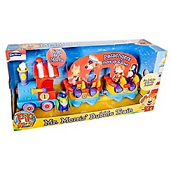 Pip Ahoy - Mr Morris' bubble train playset