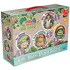 Jumbo - 4 in 1 Shaped Jigsaw Puzzles