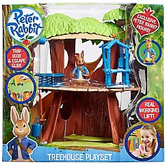 Beatrix Potter - Peter Rabbit treehouse playset