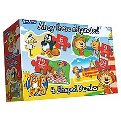 Pip Ahoy - 4 in 1 jigsaw puzzles