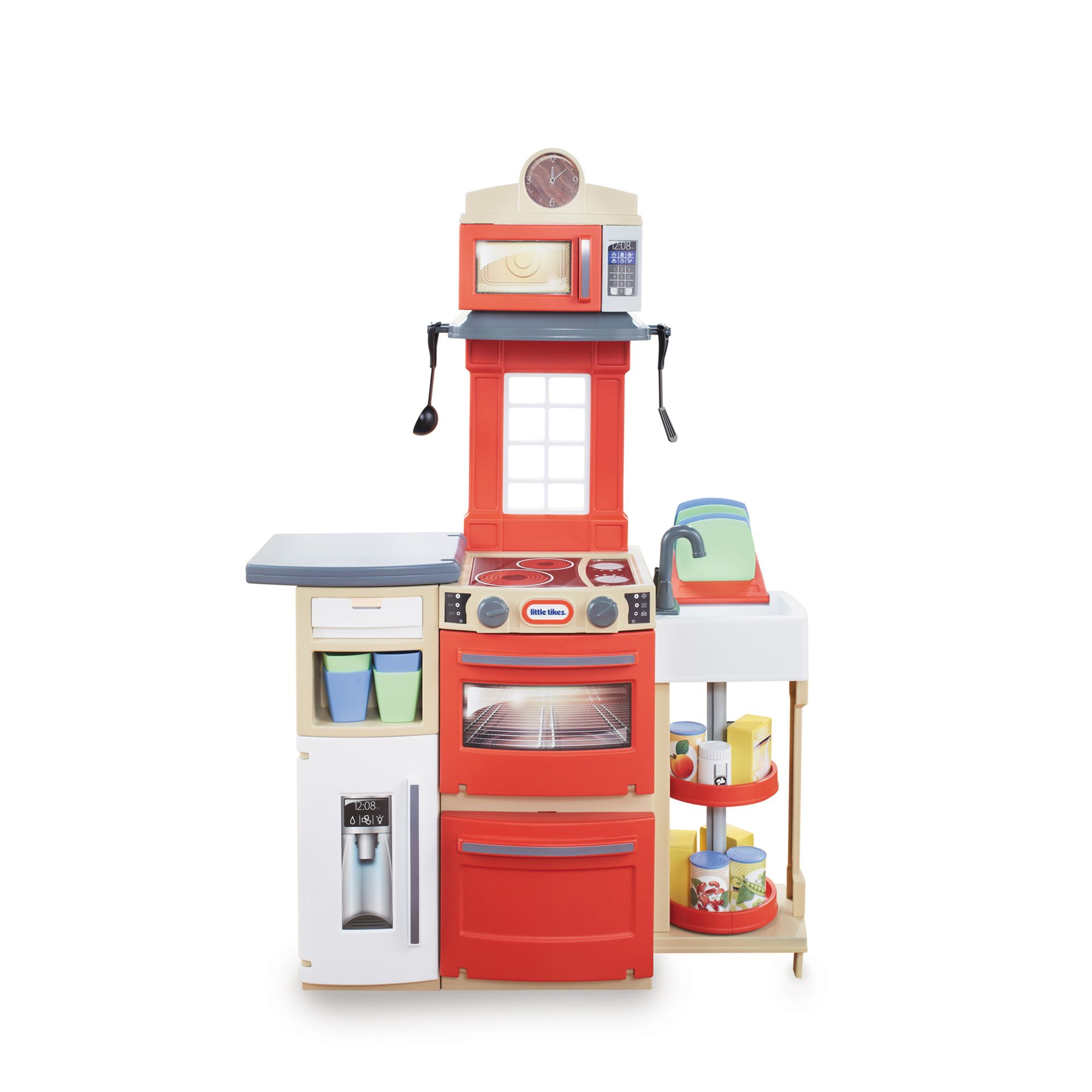 Little Tykes Kitchen: Little Tikes Cook 'N Store Kitchen (Red) From Debenhams