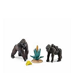 Schleich - Wild Life Gorilla Family Set