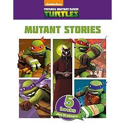 Parragon - Teenage Mutant Ninja Turtles 5 Book collection