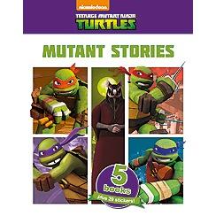 Parragon - Teenage Mutant Ninja Turtles 5 Book collection