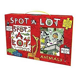 Parragon - Spot a Lot Animals Book and Jigsaw Pack