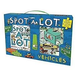 Parragon - Spot A Lot Vehicles Book and Jigsaw Pack