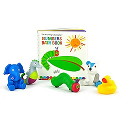The Very Hungry Caterpillar - Bath book with toys set