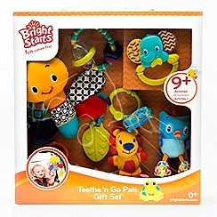 Bright Starts - Teethe 'n Go Pals Gift Set