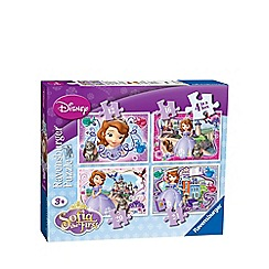 Disney Sofia the First - 4 in 1 jigsaw puzzles