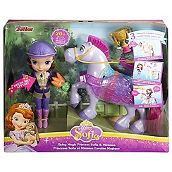 Disney Sofia the First - Flying magic princess sofia and minimus