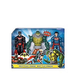 Batman - Reptile rage battle pack figures