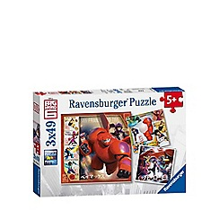 Big Hero 6 - Jigsaw puzzles 3 x 49 pieces