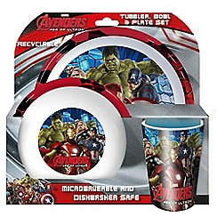 The Avengers - Tumbler, bowl and plate set
