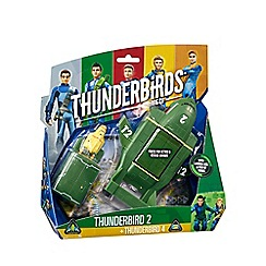 Thunderbirds - Thunderbird 2 with mini thunderbird 4