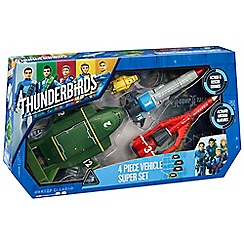Thunderbirds - Thunderbirds vehicle super set