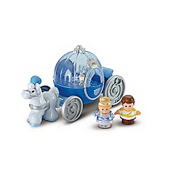 Fisher-Price - Little people disney princess winter carriage