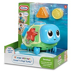 Little Tikes - Lil' Ocean Explorers Crawl 'n Pop! Turtle