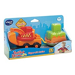 VTech Baby - Toot Toot Drivers digger with trailer
