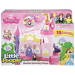 Fisher-Price - Little people disney princess musical dancing palace