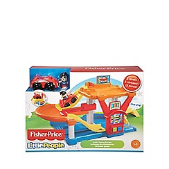 Fisher-Price - Little people rollin' ramps garage
