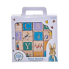 Beatrix Potter - Peter Rabbit Wooden Picture Blocks