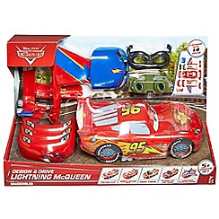 Disney Cars - Design and drive Lightning McQueen