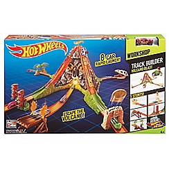 Hot Wheels - Fall track builder volcano playset