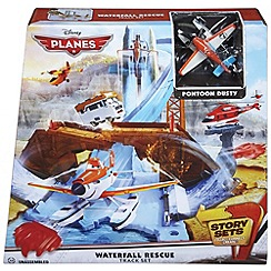 Disney Planes - Waterfall rescue track set