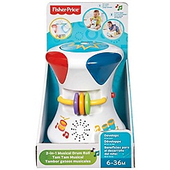 Fisher-Price - Bright beats 2-in-1 musical drum roll