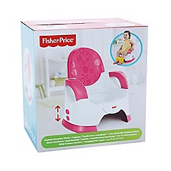 Fisher-Price - Pink custom comfort potty girl