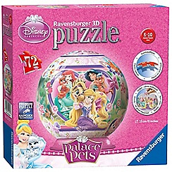 Disney Princess - 3D puzzle - 72 pieces