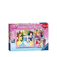 Disney Princess - Jigsaw puzzles 3 x 49 pieces