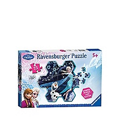 Disney Frozen - Jigsaw shaped puzzle - 73 pieces