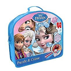 Disney Frozen - Puzzle and Colour
