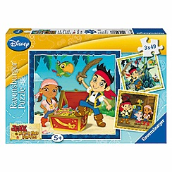 Jake & The Neverland Pirates - Jigsaw puzzles 3 x 49 pieces